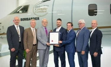 Бизнес-джет Bombardier Global 7500 сертифицировали в Канаде