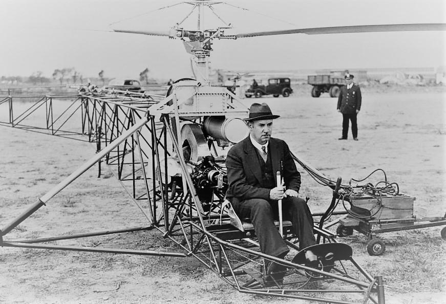 История вертолета