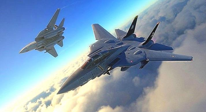 F-14 Tomcat - легендарный американский реактивный истребитель