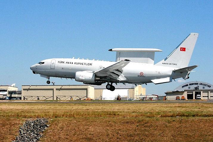 Турция контролирует воздушное и морское пространство Ливии с помощью Boeing E-7T Peace Eagle (737-7ES)