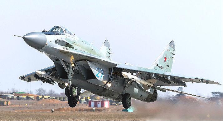 МИГ-29 - один из лучших истребителей четвертого поколения
