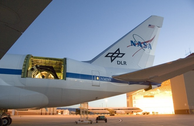 телескоп NASA Boeing 747 SOFIA