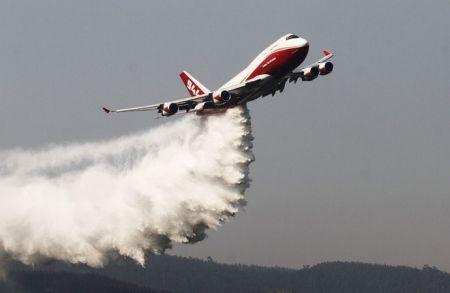 Самый большой пожарный самолет в мире Boeing 747 Supertanker. Особенности конструкции, сравнительные характеристики