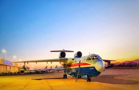 Об итогах работы российских самолетов Бе-200ЧС в Турции