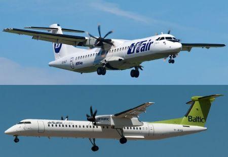 Битва турбовинтовых двигателей: ATR Vs Bombardier